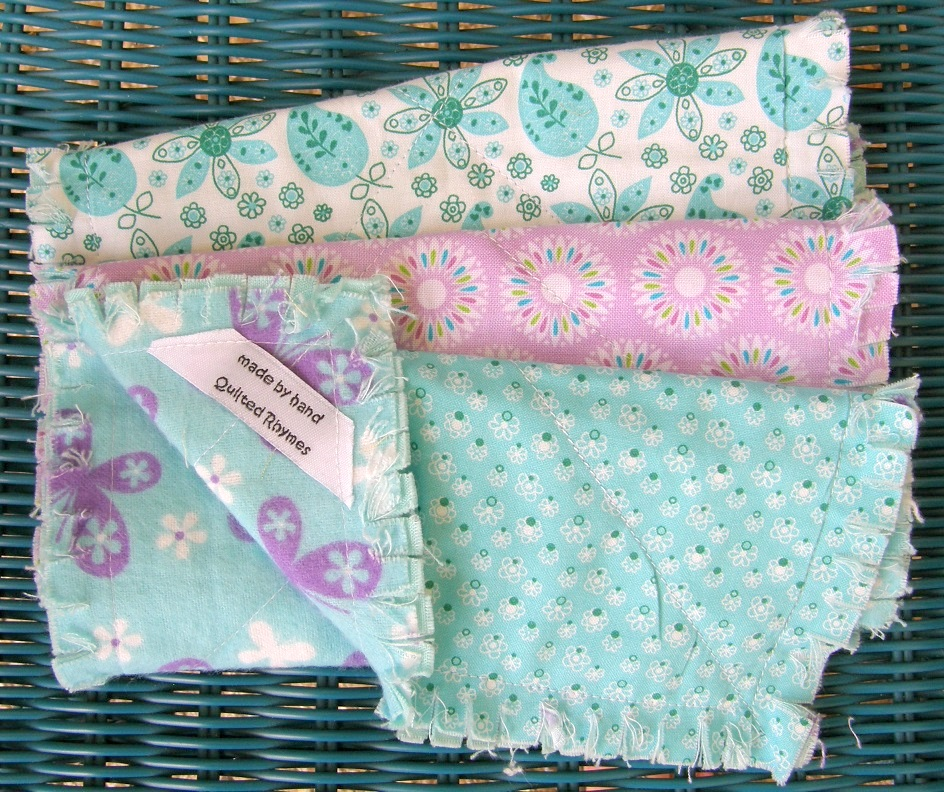 Butterfly Butterfly Burp Cloth