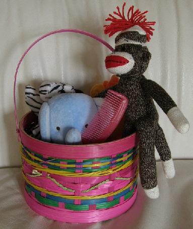 Animal Fair Story Basket