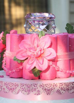 Baby Jewel Diaper Cake