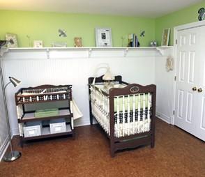 Baby nursery flooring for Hardwood floors and babies