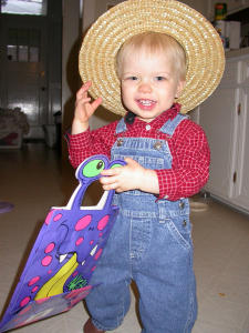 Homemade Farmer Costume