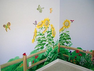 Baby Nursery Wall Finishes