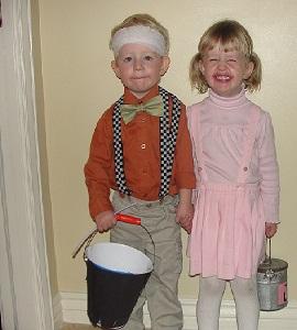 Homemade Nursery Rhyme Costumes