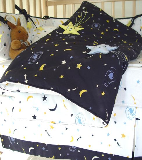 Brand new Starry Night Crib Bedding ZT79
