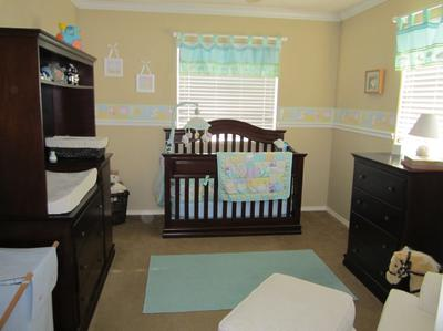Nursery Rhyme Themed Baby Boy Room