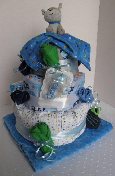 Nursery Rhyme Diaper Cake