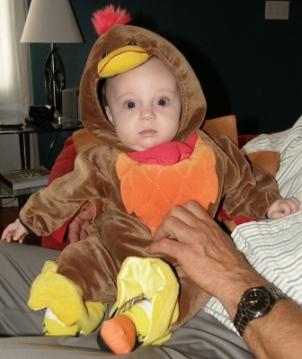 Baby Turkey Costum