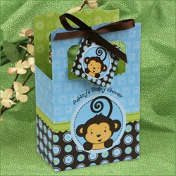 Shower favor gift box